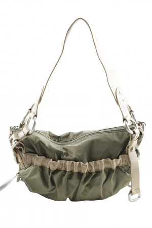 DKNY Carry Bag cream-olive green street-fashion look