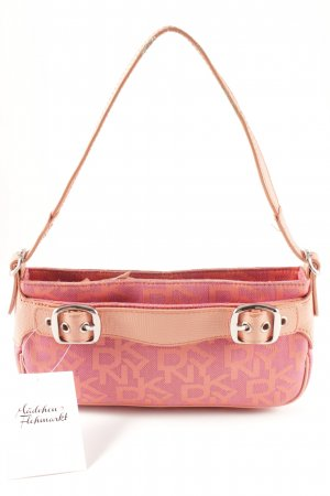 DKNY Carry Bag pink-apricot allover print retro look