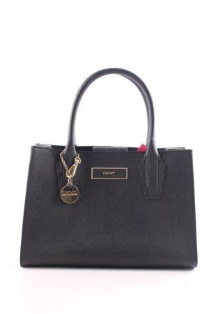 DKNY Henkeltasche schwarz schlichter Stil