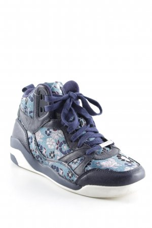 DKNY High Top Sneaker Blumenmuster Casual-Look