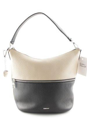 DKNY Hobo schwarz-beige Casual-Look