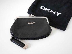 DKNY: Hochwertige Geldböres * Portemonnaie * Leder * Schwarz
