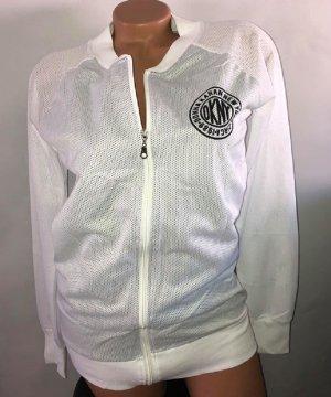 DKNY Jacke in gr M Farbe Weiss Schwarz Neu