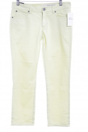 DKNY Jeans Jeans a 7/8 giallo lime modello web stile casual