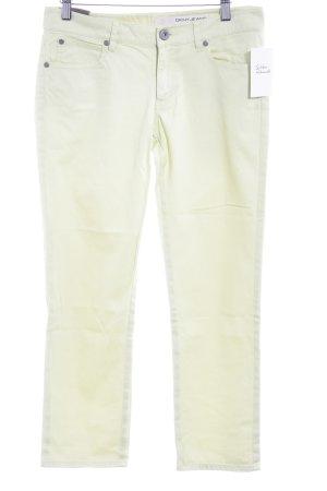 DKNY Jeans 7/8 Jeans limettengelb Webmuster Casual-Look