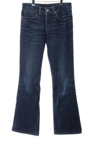 DKNY Jeans Boot Cut Jeans blau Casual-Look