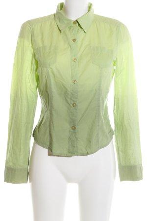 DKNY Jeans Hemd-Bluse grün Farbverlauf Casual-Look