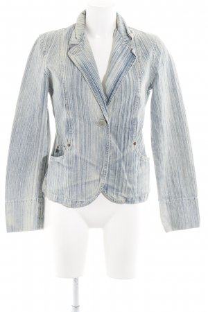 DKNY Jeans Denim Blazer pale blue-cream washed look