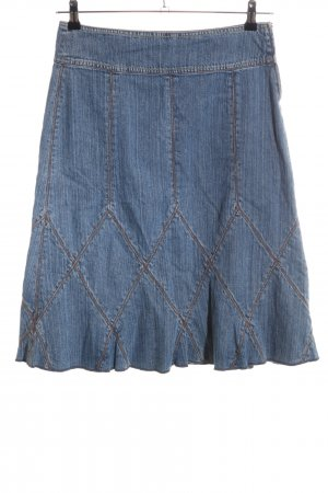 DKNY Jeans Jeansrock blau-braun Casual-Look