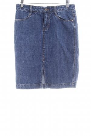 DKNY Jeans Gonna di jeans blu acciaio stile casual