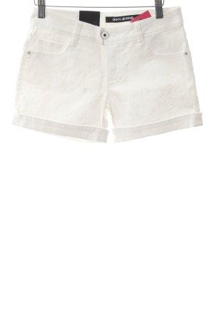 DKNY Jeans Jeansshorts weiß schlichter Stil