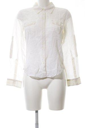 DKNY Jeans Langarm-Bluse weiß Business-Look