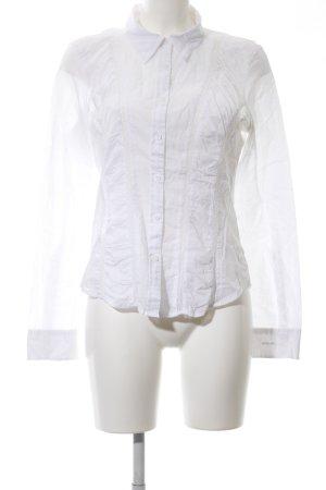 DKNY Jeans Langarm-Bluse weiß Elegant