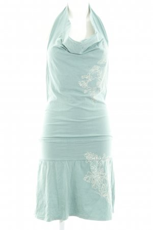 DKNY Jeans Robe dos-nu turquoise Look de plage