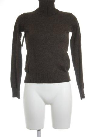 DKNY Jeans Rollkragenpullover braun Casual-Look