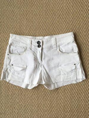 DKNY Jeans Shorts weiß, Hotpants, Gr.16 ( Jahre ), XS, ungetragen