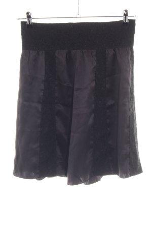 DKNY Jeans Spitzenrock schwarz-lila Elegant