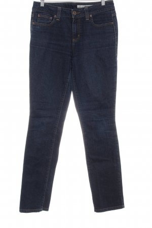 DKNY Jeans Jeans a gamba dritta blu scuro puntinato stile casual