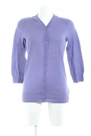 DKNY Jeans Giacca in maglia viola stile casual