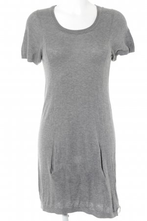 DKNY Jeans Strickkleid grau Casual-Look