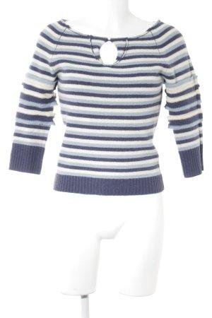 DKNY Jeans Maglione lavorato a maglia motivo a righe stile casual