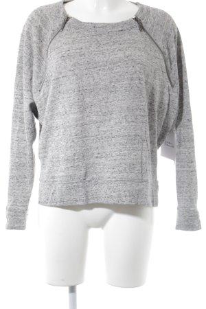 DKNY Jeans Sweatshirt hellgrau meliert Casual-Look