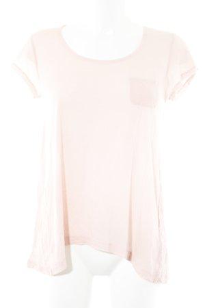 DKNY Jeans T-Shirt rosé Webmuster Casual-Look