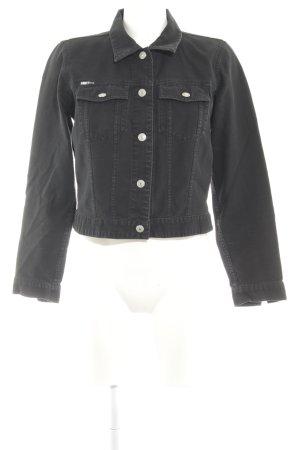 DKNY Jeans Übergangsjacke schwarz Casual-Look
