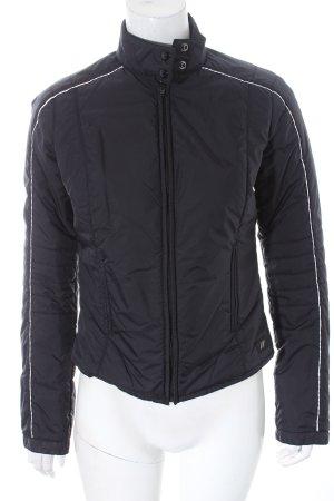 DKNY Jeans Übergangsjacke schwarz-weiß sportlicher Stil