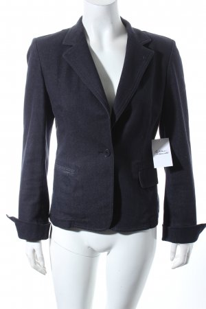 DKNY Jeansblazer blau Street-Fashion-Look