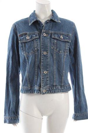DKNY Jeansjacke blau Casual-Look