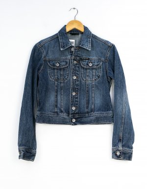 DKNY Jeans Denim Jacket dark blue