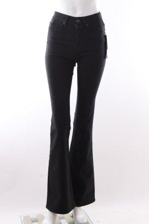 DKNY Jeansschlaghose schwarz