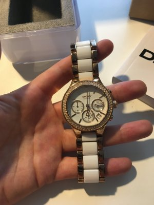 DKNY Analog Watch white stainless steel