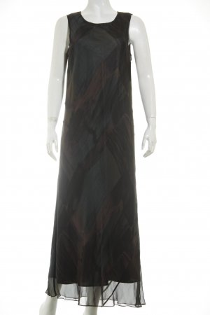DKNY Kleid dunkelbraun Kunstmuster Elegant