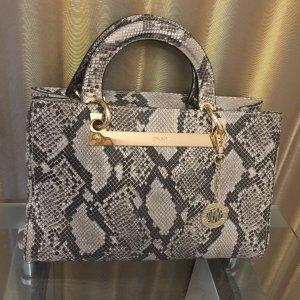DKNY Leder Snake Muster Tasche
