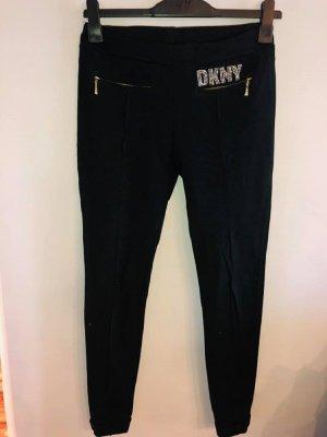 DKNY Jegging noir-argenté