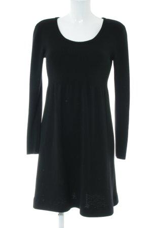 DKNY Jersey largo negro estilo «business»