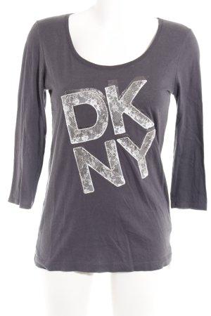 DKNY Longsleeve Motivdruck Casual-Look