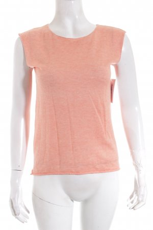 DKNY Long Top apricot mixture fibre