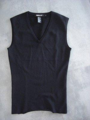 DKNY LUXUS Pullover Pullunder Gr 38  Schwarz neuwertig