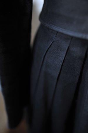 DKNY Mantel, leichter edler Offizierstil, schwarz, Canvas