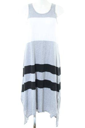 DKNY Maxikleid Streifenmuster Casual-Look