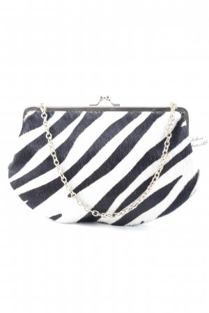 DKNY Mini Bag white-black animal pattern casual look