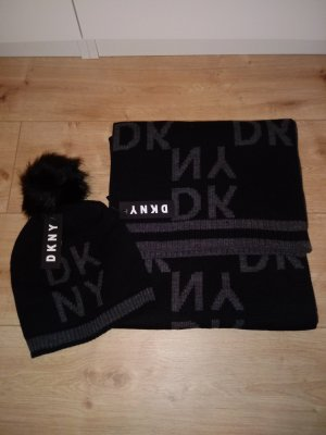 DKNY Bufanda negro-gris