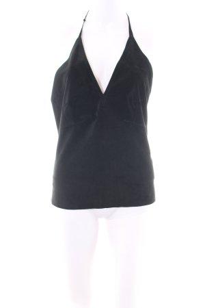 DKNY Halter Top black elegant