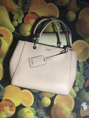 DKNY nudefarbene Tasche mit allem Zubehör