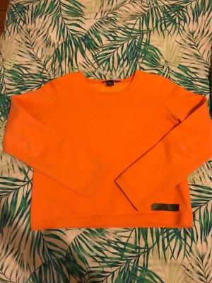 DKNY orangenen Shirt