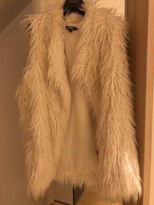 DKNY Oversized Faux Fur Weste