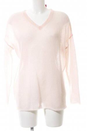 DKNY Oversized Pullover nude Casual-Look